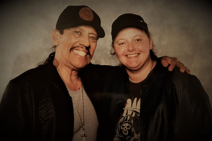 Photo op with Danny Trejo at For the Love of Horror Manchester 2018
