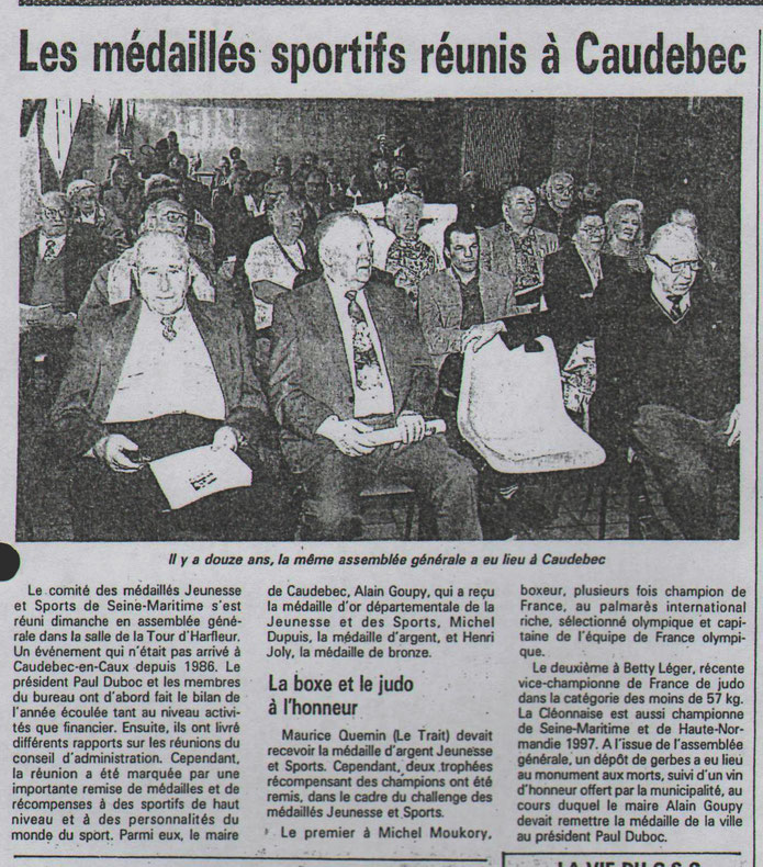 Le COURRIER CAUCHOIS du 4 avril 1994