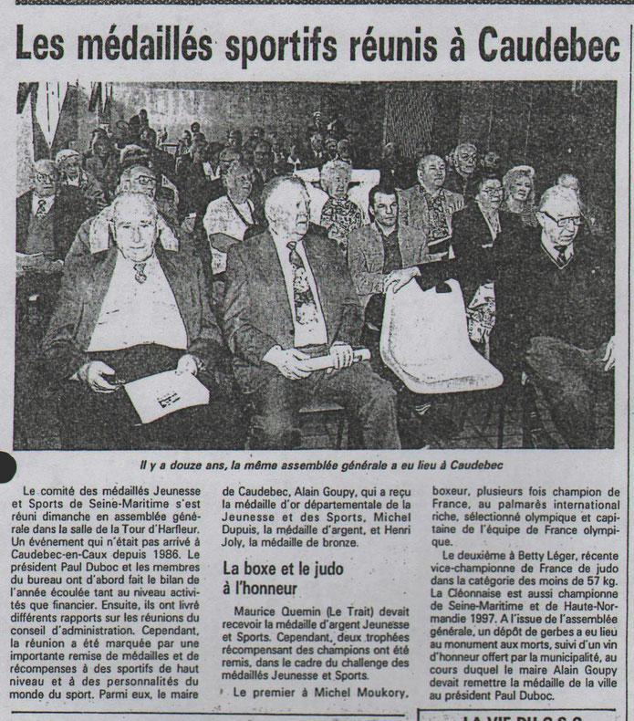Le COURRIER CAUCHOIS du 4 avril 1994