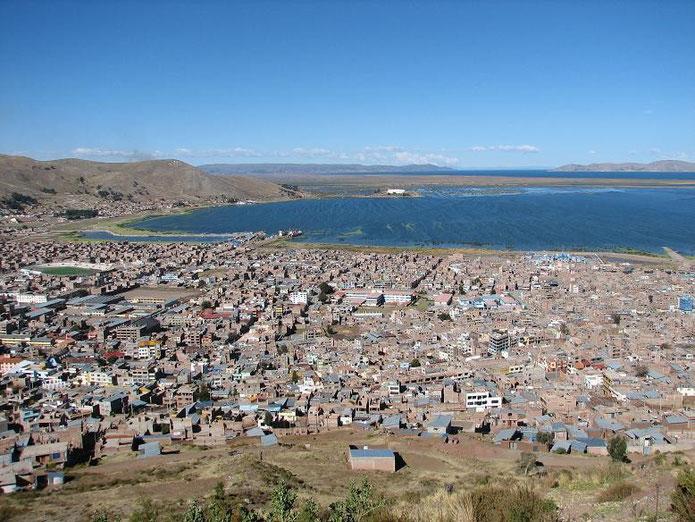 Puno und Titicacasee