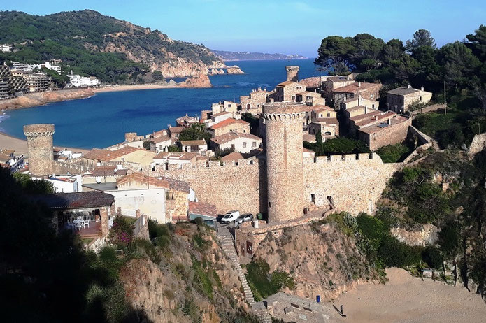 Самые кпрасивые места Каталонии - Тосса де Мар