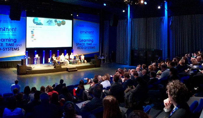 Eröffnung der EMINENT-Konferez