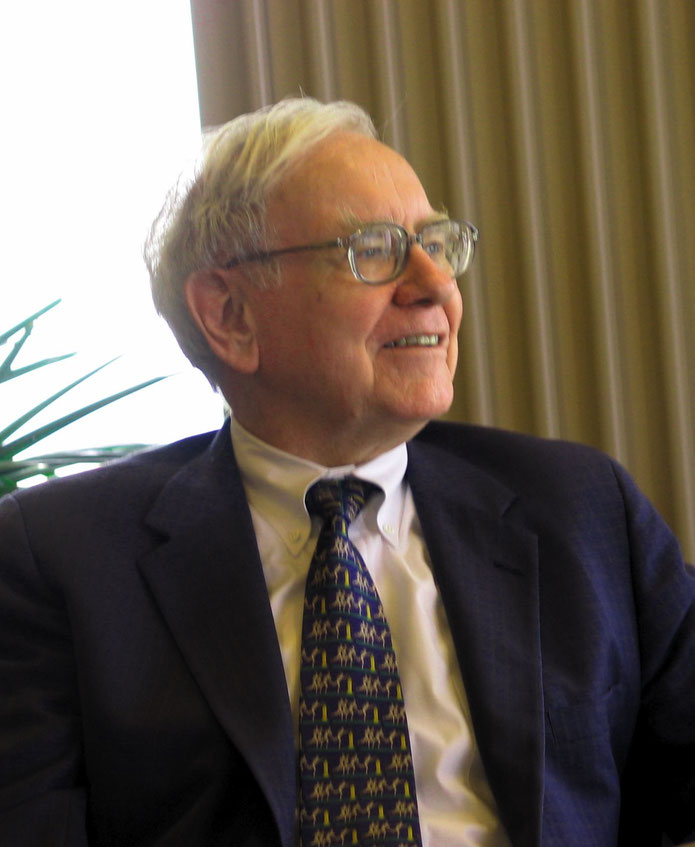 Warren Buffett 2015 an der Universität Kansas. Foto: Mark Hirschey [CC BY-SA 2.0 (https://creativecommons.org/licenses/by-sa/2.0)]
