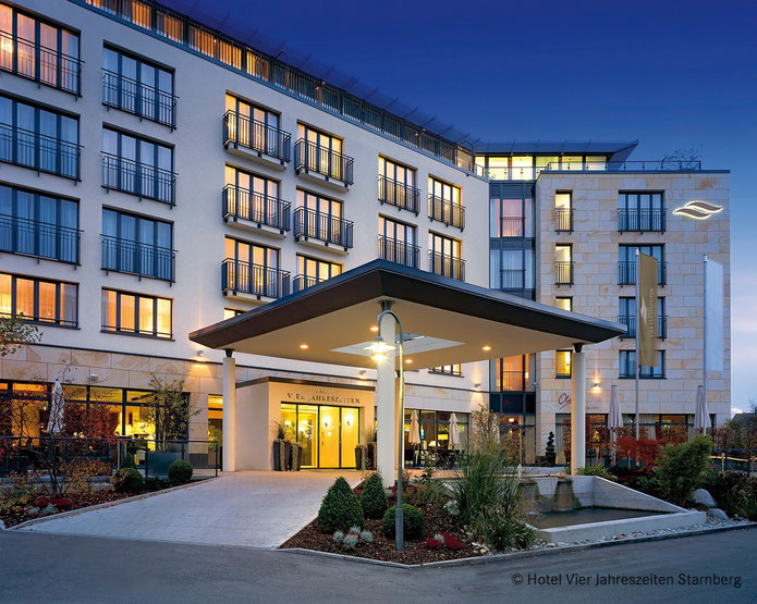 Das Hotel Vier Jahreszeiten am Starnberger See ist Austragungsort unseres REIT-Seminars im Juni.