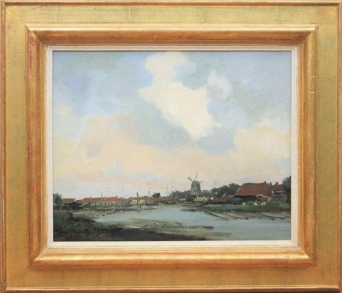 te_koop_aangeboden_een_molengezicht_van_de_nederlandse_kunstschilder_willem_george_frederik_jansen_1871-1949