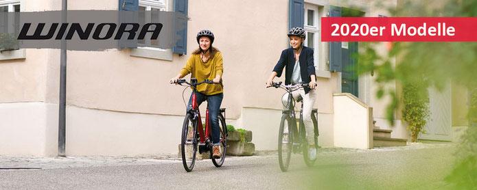 Winora City / Trekking e-Bikes 2019