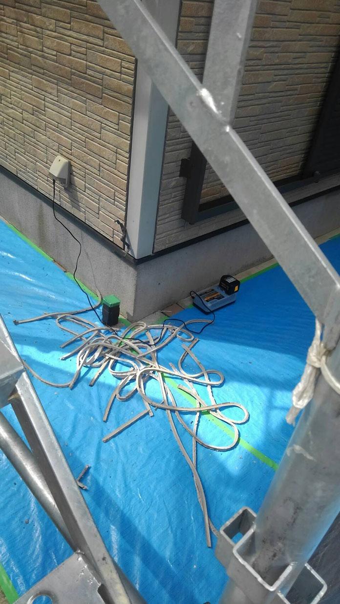 千葉市花見川区で塗装工事してます!