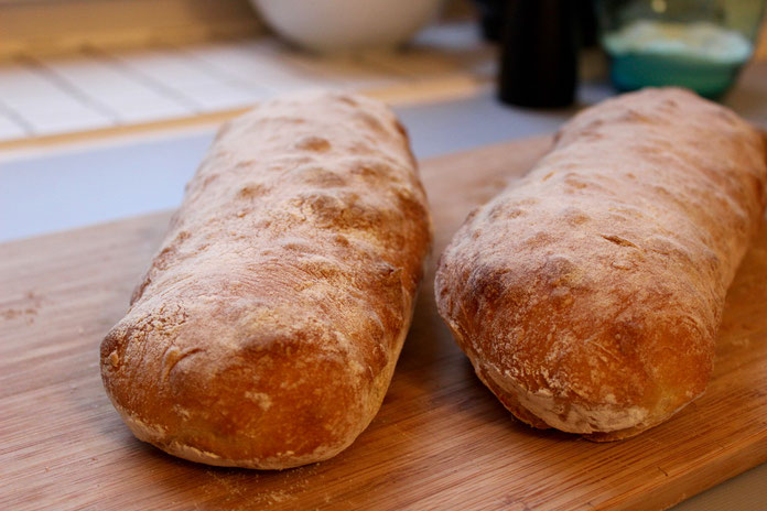 Ciabatta backen wie in Italien
