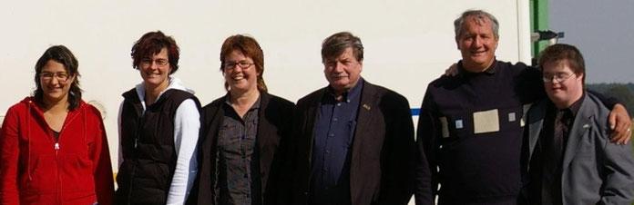 Erika Sievers, Wilfried Durchholz, Oliver Sievers