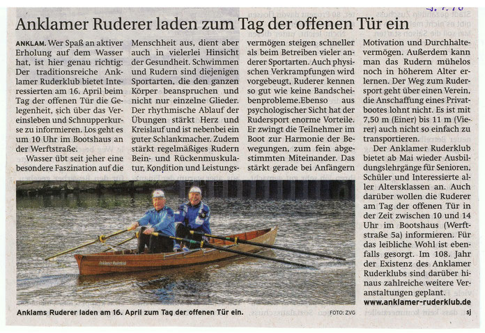 Vorpommern-Kurier vom 09.04.16