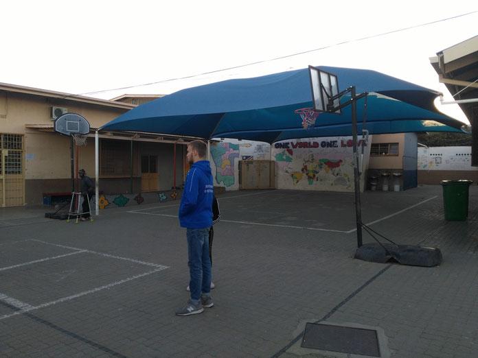 Innenhof des BNC