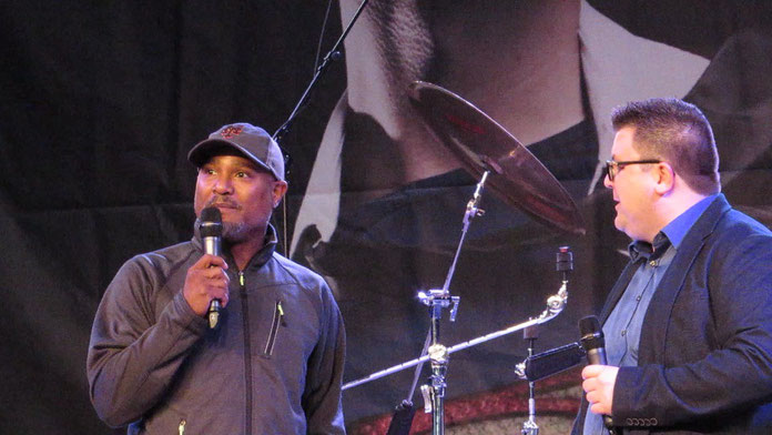 Maurice Wolbert and Seth Gilliam at Dutch Comic Con