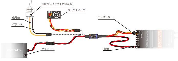 MMP 電子スイッチ付き電流電圧センサー