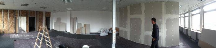 umbau neues Studio