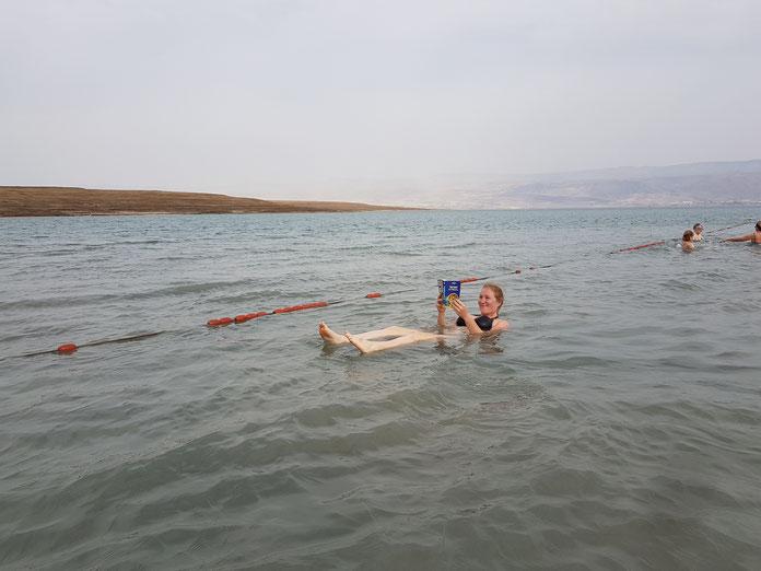 Mein 29. Geburtstag - im Toten Meer