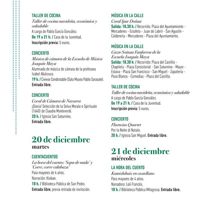 Navidad en Pamplona Belenes Olentzero