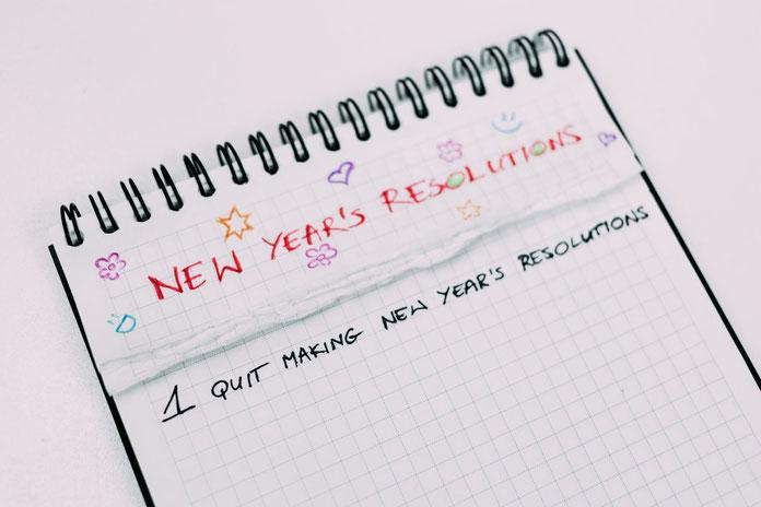 Liste von Neujahrsvorsätzen