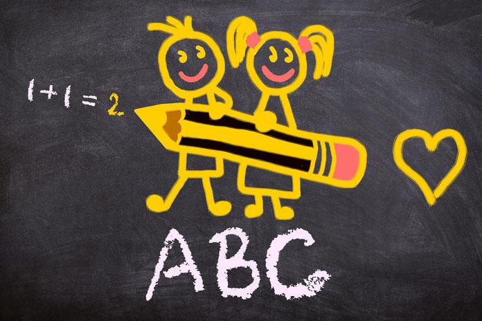 1+1=2, ABC