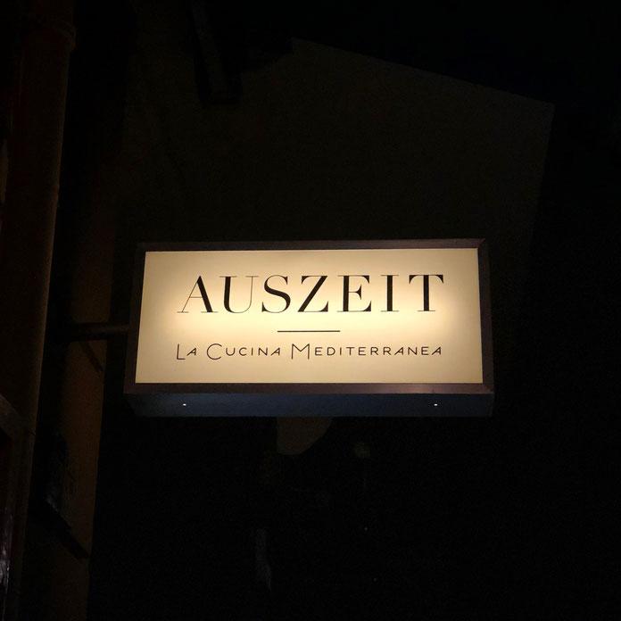 Restaurant Auszeit – La Cucina Mediterranea