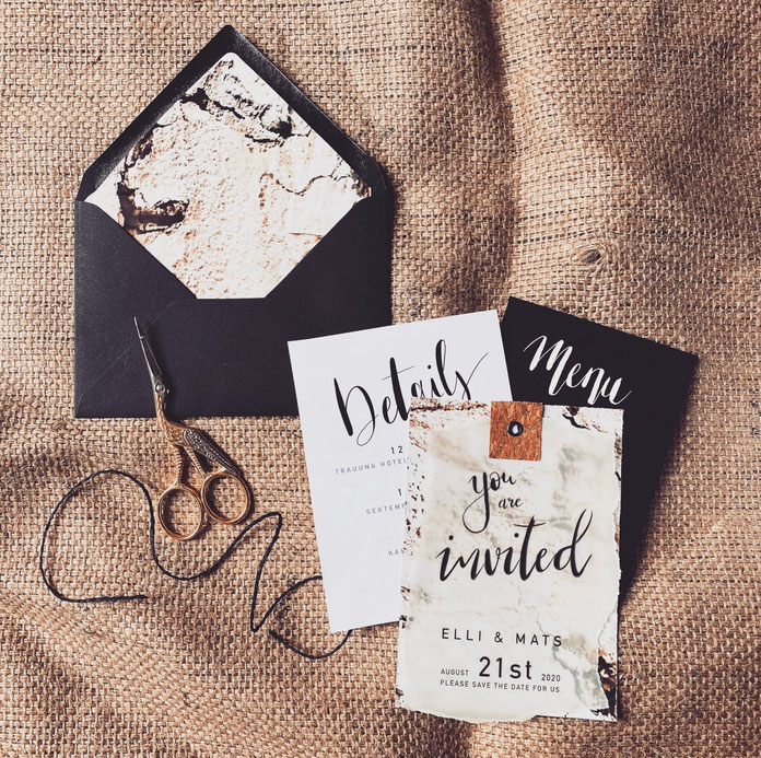 DIY Wedding Invitation — Weddinginspiration