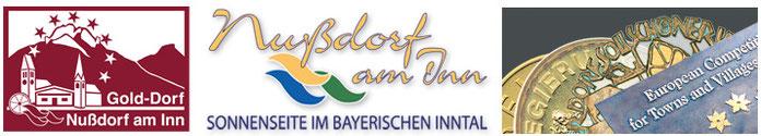 Nußdorf am Inn/ Grafiken und Logo von Bürtin