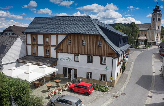 Gasthof Fischbacherhof Außenansicht Winter