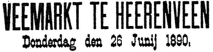 Uit: Leeuwarder Courant, 18 juni 1890