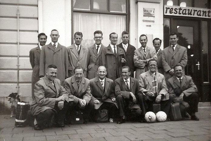 Volleybal ploeg Huis van Bewaring Leeuwarden