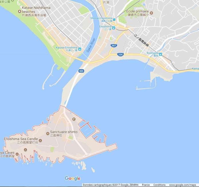 Crédit photo Google maps©2017