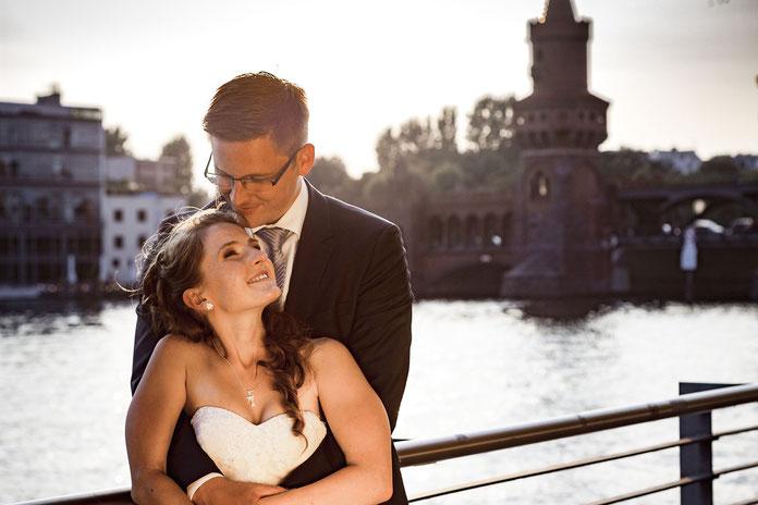 Hochzeitsfotos an der Spree