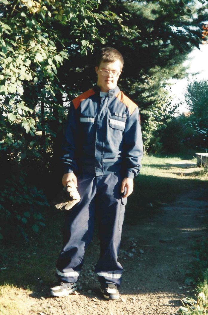Seit dem 13.08.1996 bin ich Mitglied der Jugendfeuerwehr Ahlerstedt