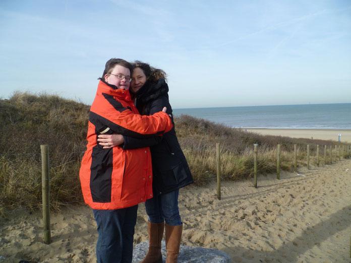 Oliver Sievers und Annelies Reuver in Den Haag/NL