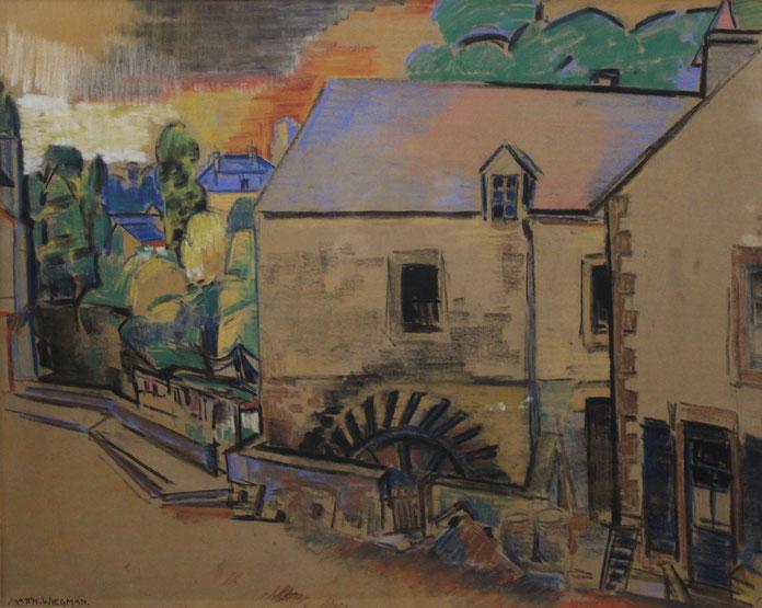 te_koop_aangeboden_een_kunstwerk_van_de_nederlandse_kunstschilder_matthieu_wiegman_1886-1971_bergense_school