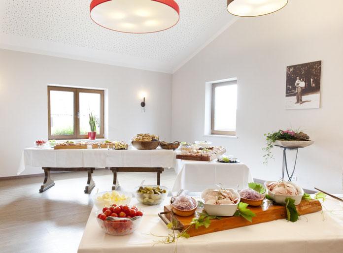 Der Sängerraum im Gasthaus Göttlinger