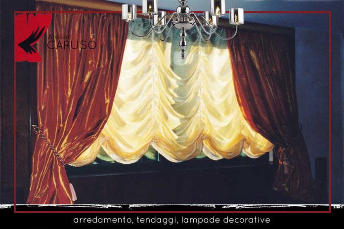 Tende drappeggiate classiche