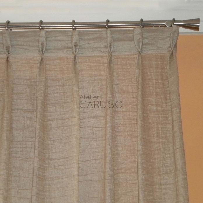Tende in lino atelier tessuti arredamento tende tendaggi - Tessuti x tende da interno ...