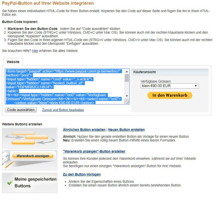 Kostenloser Onlineshop - Anleitung Bild 8