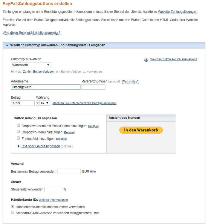 Kostenloser Onlineshop - Anleitung Bild 4