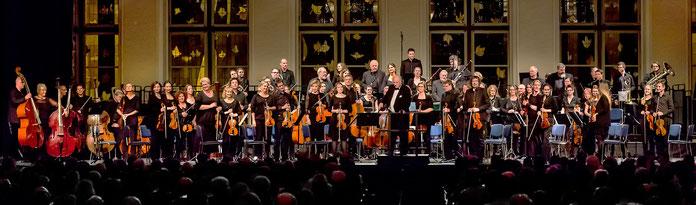 Jubiläumskonzert am 4. 12. 2016 im Gürzenichsaal zu Köln