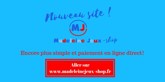 Madeleine jeux : achat de matériel sportif pour les enfants et les adolescents.