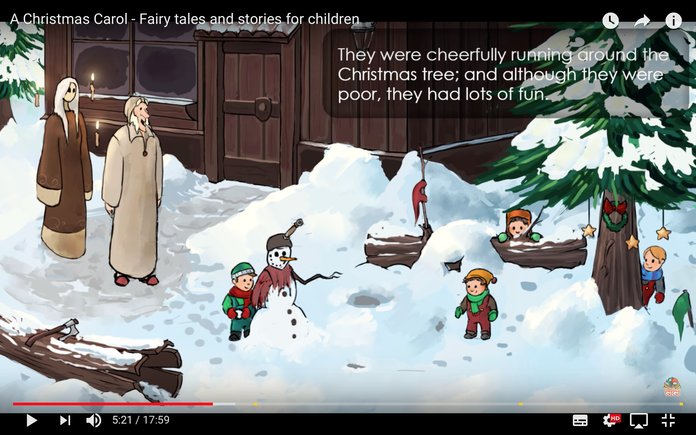 "Screenshot von ""A Christmas Carol"""