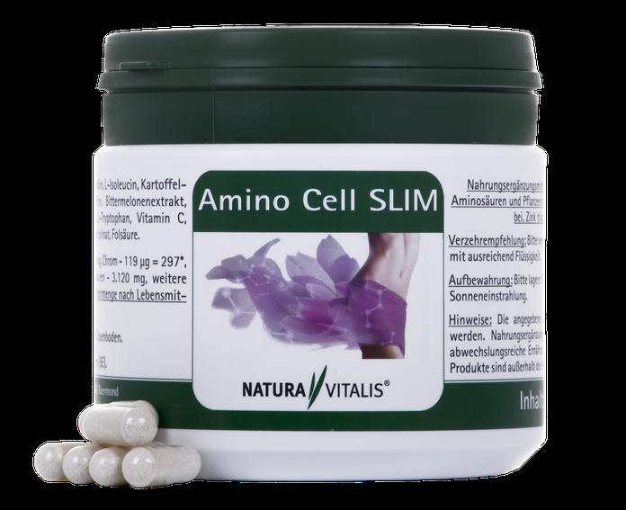 Natura Vitalis Amino Cell Slim zur Gewichtsreduktion Abnehmen