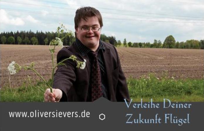 Oliver Sievers - Visitenkarte - Verleihe Deiner Zukunft Flügel