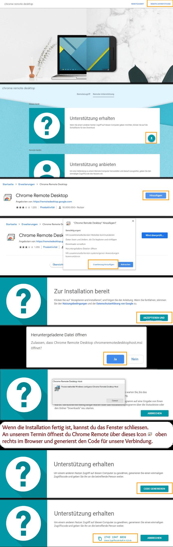 Chrome Remote Anleitung