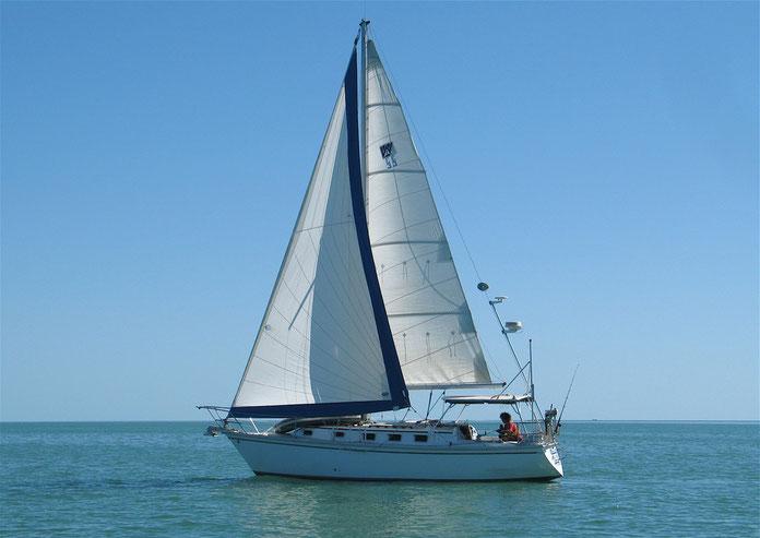 Navegando en el Golfo de Méjico Florida.
