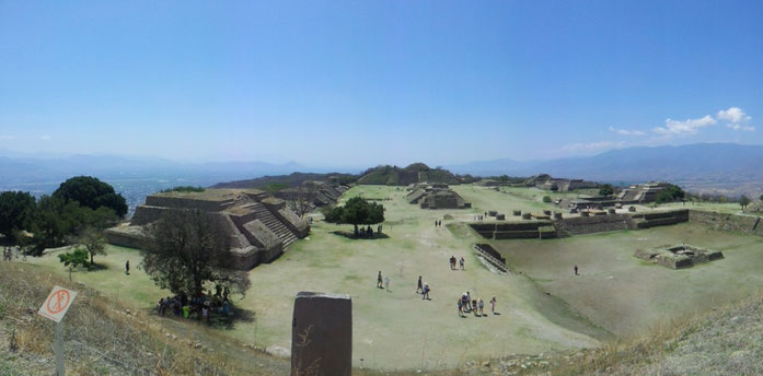 Ruins Monte Alban in Oaxaca - very mystical place...