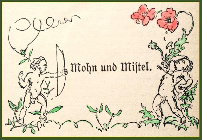Quelle: Von Blumen, Märchen, Sagen und Legenden aus der Pflanzenwelt, Verlag H.Schaffstein