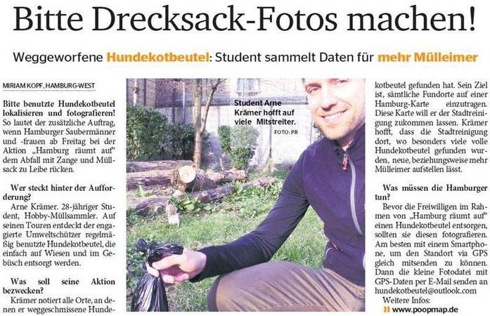 Quelle: Elbe Wochenblatt (Print), 18.03.2015, Autor: Miriam Kopf