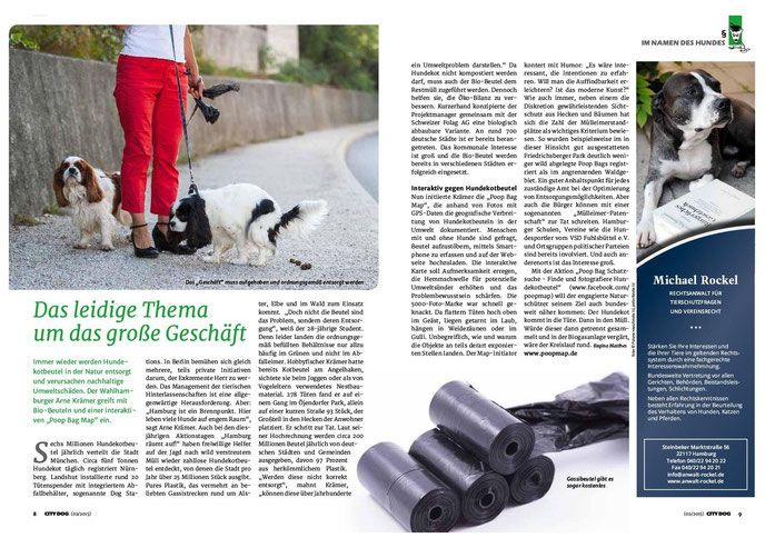 Quelle: City Dog 2/2015 (Print), Autor: Regina Matthes