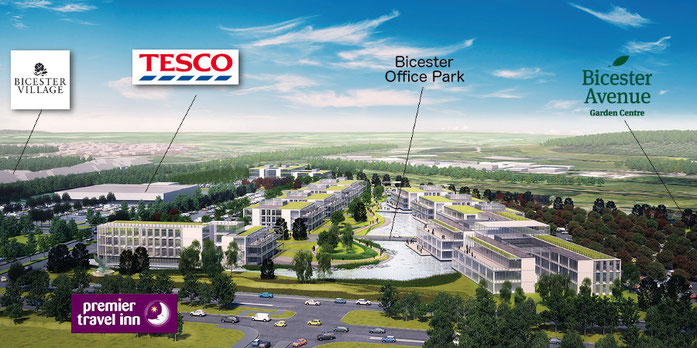 Already approved developments in Bicester